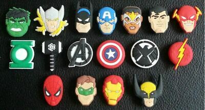 17 x Avengers Shoe Charms Made For Croc shoes Crocs Jibbitz Charm End Game