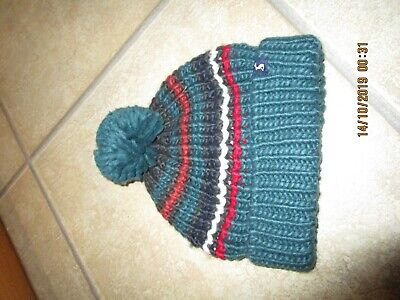 Boys Bobble Hat from Joules - Age 3 - 7 Years - New Current Stock RRP £14.95