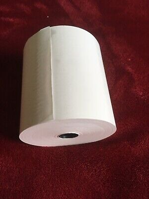 Single Ply Till Paper Roll 76x76mm Thermal TH80 Box Of 20