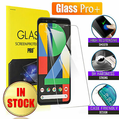 For Google Pixel 4 XL 3 3A XL Full Coverage Tempered GLASS Pro+ Screen Protector