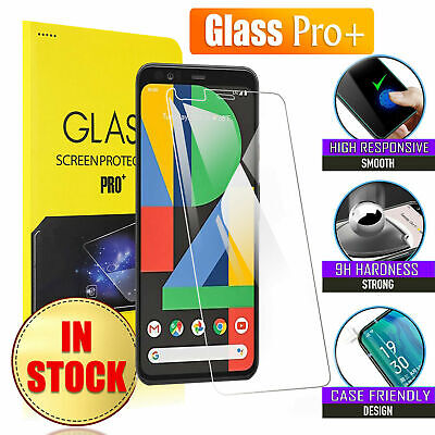 Google Pixel 4 XL 3 3A XL 2 XL Full Cover Tempered GLASS Pro+ Screen Protector