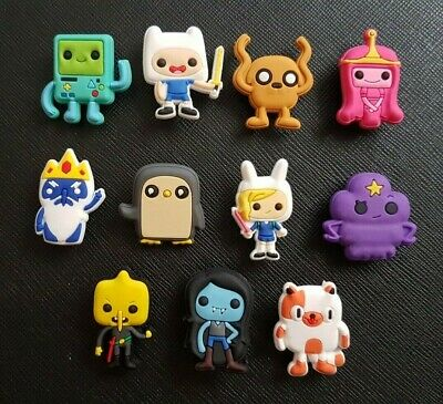 11 Adventure Time Finn Jake Shoe Charms Made For Croc shoes Crocs Jibbitz Charm