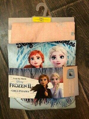 Primark Girls Disney Frozen 2 Pjs Nightwear Pyjamas Bnwt All Ages