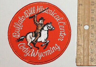 Very Old BUFFALO BILL Historical Center patch Cody Wyoming WY Wyo vintage patch