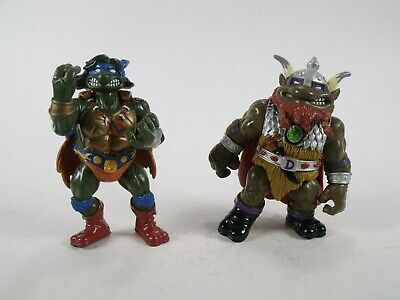 Teenage Mutant Ninja Turtles Warriors of Forgotten Sewer Savage Leo and Don