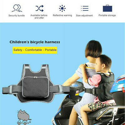 Motorcycle Baby Kids Safety Seat Strap Belt Harness Protection Buckle