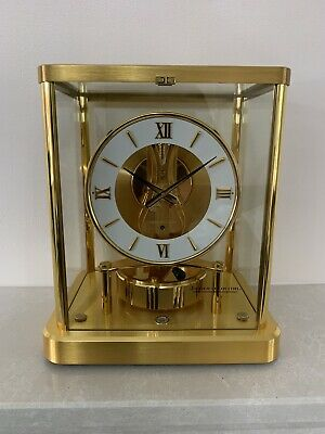 Jaeger Le-Coultre 540 Atmos Clock Original Box  Serviced
