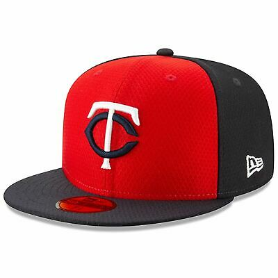 [11900029] Mens New Era MLB 2019 Batting Practice 59FIFTY Fitted Minnesota Twins
