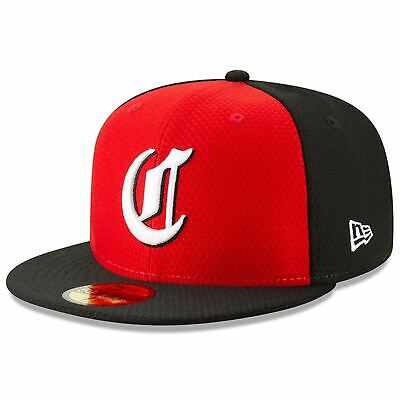 [11900046] Mens New Era MLB 2019 Batting Practice 59FIFTY Fitted Cincinnati Reds