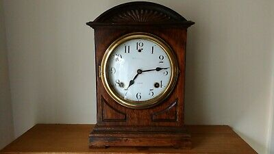 American Mantel Clock with Cathedral Gong