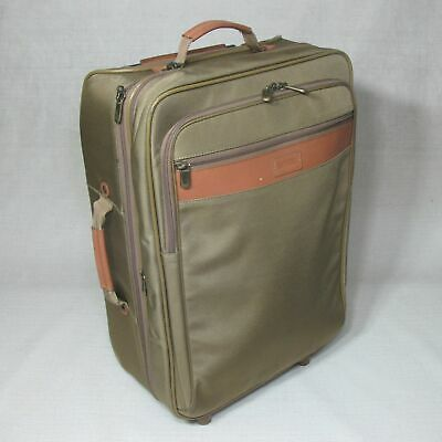 """Hartmann 22"""" Intensity Wheeled Rolling Carry-On Suitcase Good Condition"""