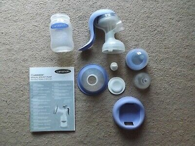 Lansinoh Manual Breast Pump in Excellent condition.