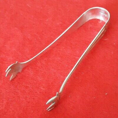 """Manchester Sterling Silver 3 7/8"""" Sugar Tongs - Mary Warren - No Monogram"""