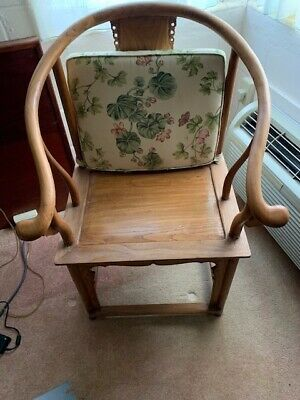 Antique Chinese Horseshoe Chair (Circa 1368-1644)