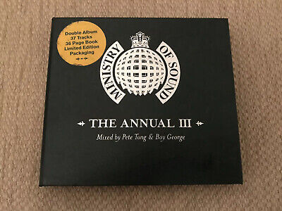Ministry Of Sound (Mos) - The Annual 3 Iii - Leather Edition ***Very Good***