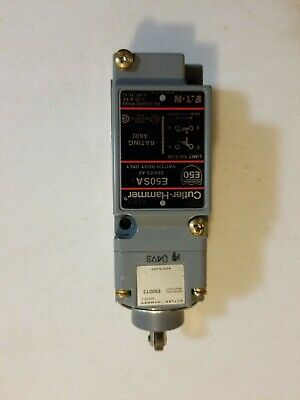 New Eaton Cutler Hammer E50AT3 Limit Switch Top Roller