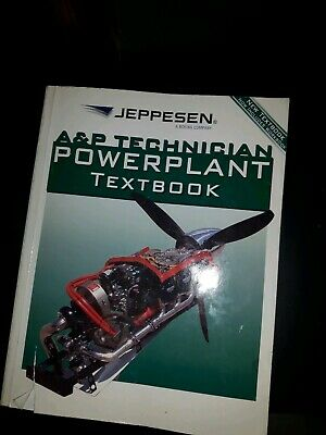 A&P Technician Powerplant Textbook  - by Jeppesen Sanderson Inc