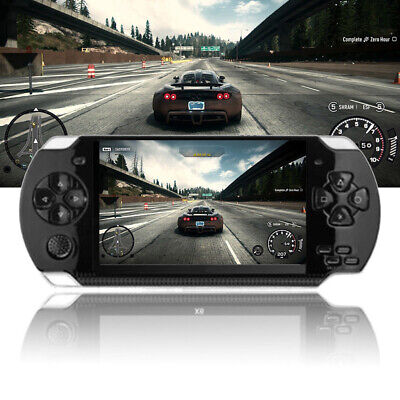 8GB Handheld PSP Game Console Player Built-in 1000 Game 4.3'' Portable Consoles