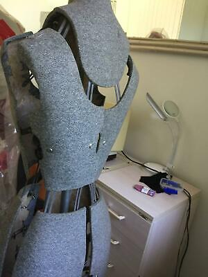 dressmakers dummy,unknown brand rub marks on upper body but no damage to cover