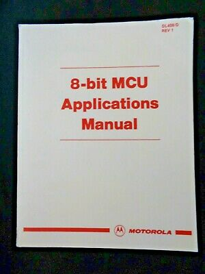 1992 Motorola 8-Bit MCU Microprocessors Programmer's Reference Manual Devices