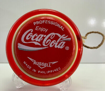 Genuine Russell PROFESSIONAL Coca-Cola Coke yo-yo YoYo FREE POST