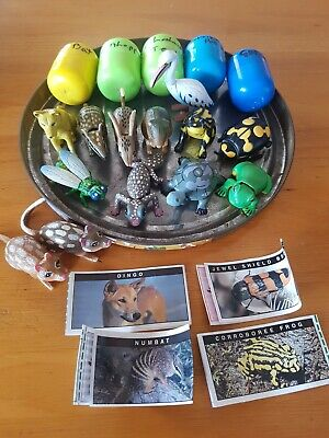 YOWIE YOWIES  ORIGINAL SERIES 1 INCOMPLETE SET OF 18 with  PAPERS