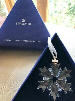 Swarovski Snowflake Christmas Ornament Annual Edition 2018 5301575