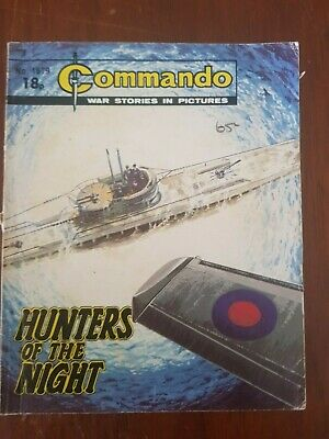 Commando War Stories Comic,Hunters of The Night , No.1679