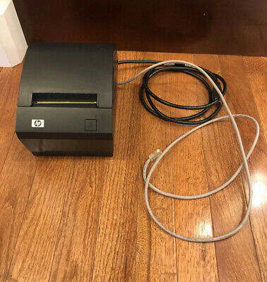 Tested HP A799-C40W-HN00 Thermal Receipt Printer Powered USB 24v Cord 490564-001