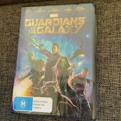 New, Wrapped. Marvel , Guardians Of The Galaxy Dvd. Region 4