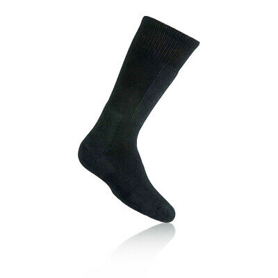 Thorlo Junior Black Wicking Warm Outdoors Trekking Mid Height Snow Socks