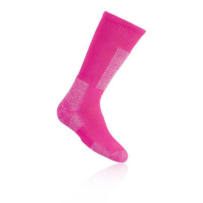 Thorlo Junior Pink Wicking Warm Outdoors Trekking Mid Height Snow Socks