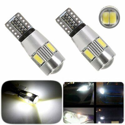 T10 194 W5W 5630 Car Side Light Bulbs Error Free Canbus & 6Smd Led Xenon Hid