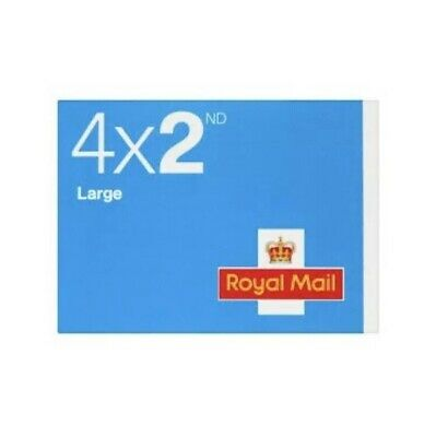 Royal Mail 4 X 2nd Class Large Stamps. New And Unused