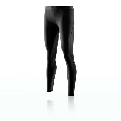 Skins Womens DNAmic Compression Long Tights Bottoms Pants Trousers Black Sports