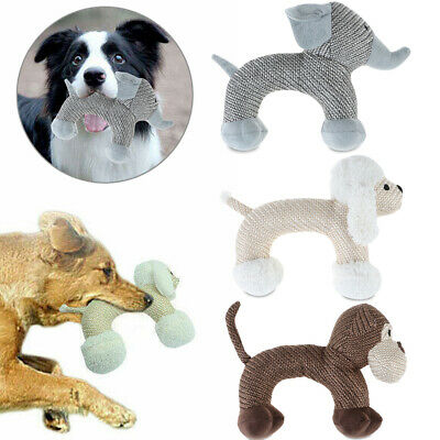 Aggressive Chew Toys for Dogs Interactive Stuffed Squeaky Toy Sound Squeaker UK~