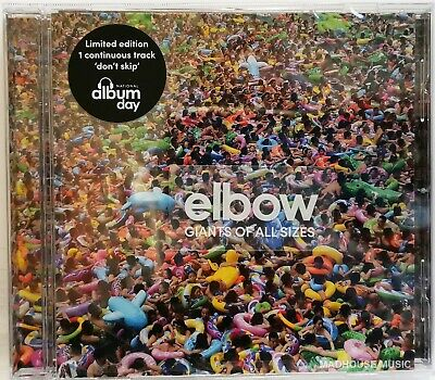 ELBOW CD Giants Of All Sizes Limited Edition 1500 Made! Album Day Issue NEW !
