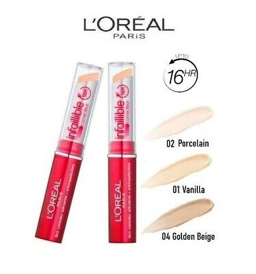 LOREAL Infallible 16H Concealer Corrector Indefectible L'Oréal Maquillaje