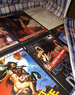 GREAT SALE of genre (cult, horror) DVD & BD discs (1000+), with RARE items!