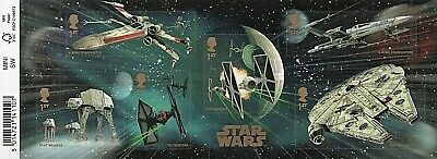 GB Stamps 2015 'Star Wars' MS3770 (with barcode) - U/M