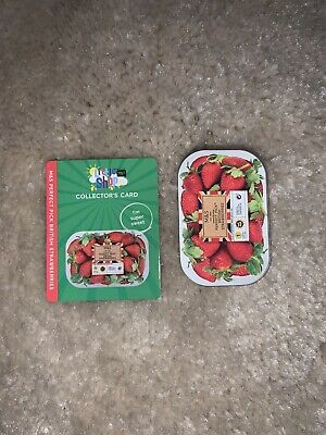 MARKS AND SPENCER M&S FOOD LITTLE SHOP MINI COLLECTABLE British Strawberries