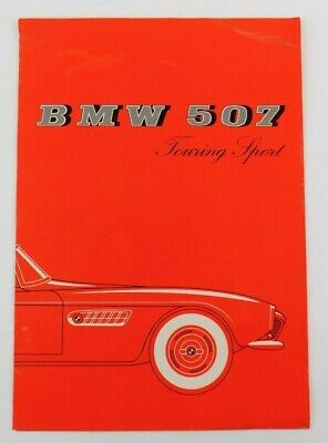 Rare BMW 507 Sales Brochure in French, Printed in Germany