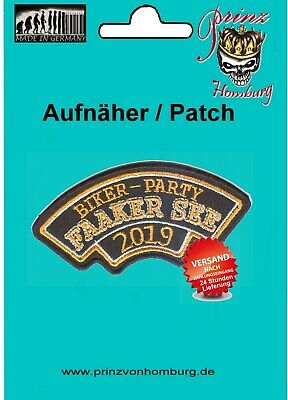 FAAKER SEE Biker Event 2019 PATCH