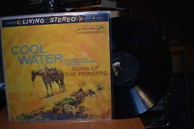 Sons of the Pioneers Cool Water LP RCA LSP-2118 Stereo
