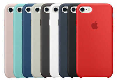 APPLE CUSTODIA COVER PER iPhone 7  8 4,7''  SILICONE CASE ORIGINALE IN BLISTER