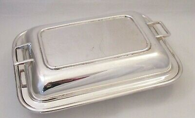 Good Art Deco Silver Plated Tureen / Serving Dish