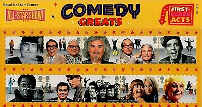 GB Stamps 2015 'Comedy Greats' Presentation Pack #509