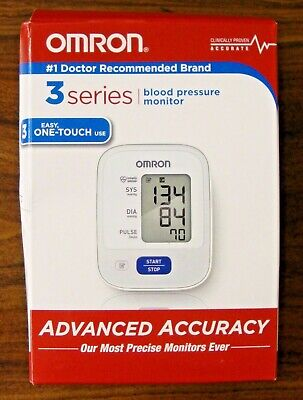 Omron 3 Series Upper Arm Blood Pressure Monitor bp710n New In The Box