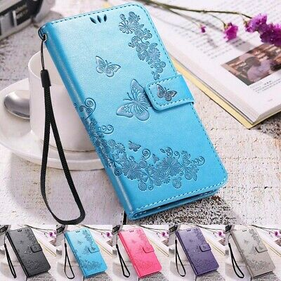 Luxury Magnetic Flip Wallet Leather Case Cover For Samsung Galaxy S7 S8 S9 Plus