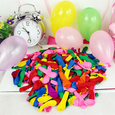 Pearl Latex 100pcs Colorful Little Balloon Decorate Wedding/Birthday Party #A